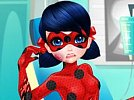 Dotted-Girl Ambulance For Superhero