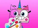 Unicorn Kitty Coloring Book