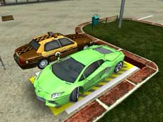 3D Parking Mall Madness