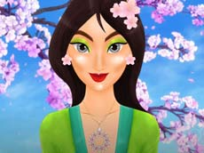 Asian Princess Magic Makeover