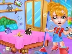 Baby Doll : The House Cleaning Game