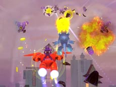 Baymax: City of Heroes