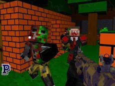 Blocky Combat Swat – Killing Zombie
