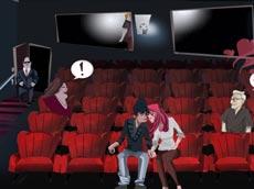Cinema Lovers: Hidden Kiss