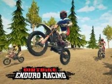 Dirt Bike Enduro Racing