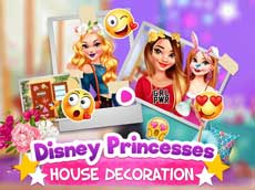 Disney Princesses House Decoration