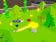 Play Online Game - Dog's Garden