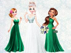 Elsa's Heavenly Wedding