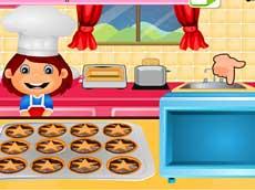 Graces Mince Pie Cooking