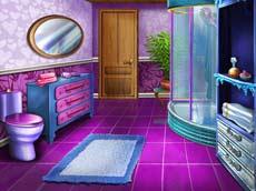 Ice Queen Bathroom Deco
