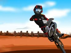 Moto Hill Bike Racing