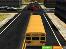 Park it 3D: School Bus 2