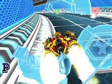 Play Online Game - Real Endless Tunnel Racing 3D