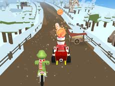 Santa's Rush The Grinch Chase