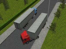 Semi Driver 3D: Trailer Parking