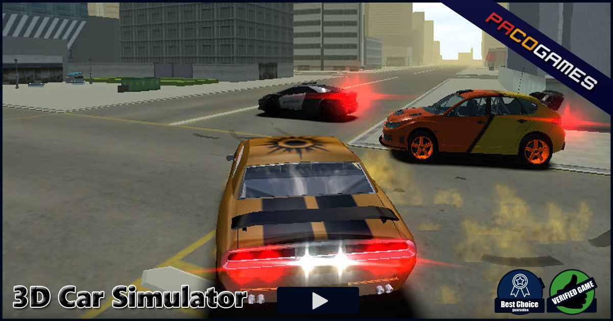 Car Simulator Games >> 3d Car Simulator Play The Game For Free On Pacogames