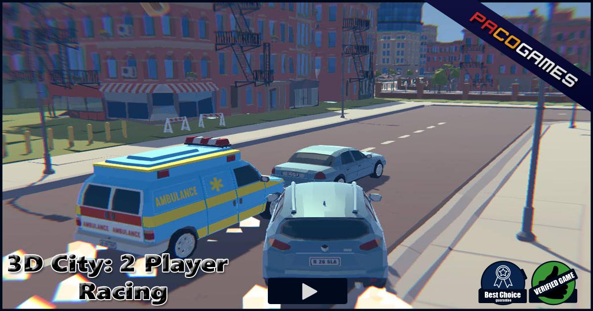 3d City 2 Player Racing العب مجانا في Pacogamescom