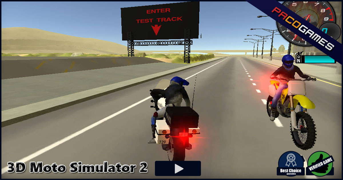 3d Moto Simulator 2 Play The Game For Free On Pacogames