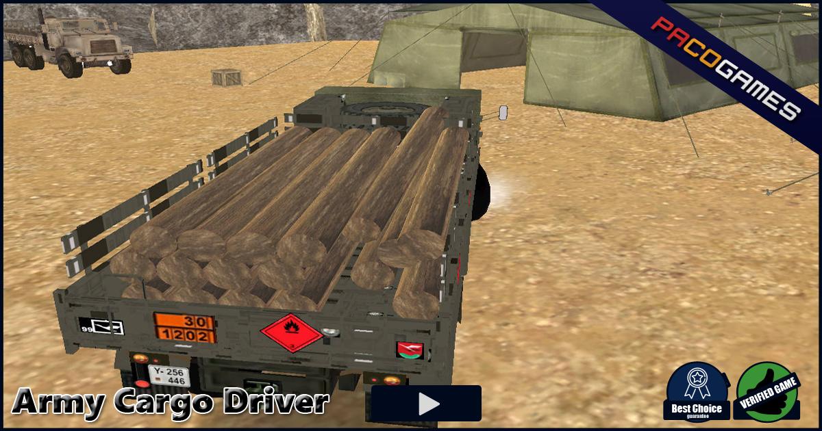 Army cargo driver ücretsiz oyna pacogames. Com'da!