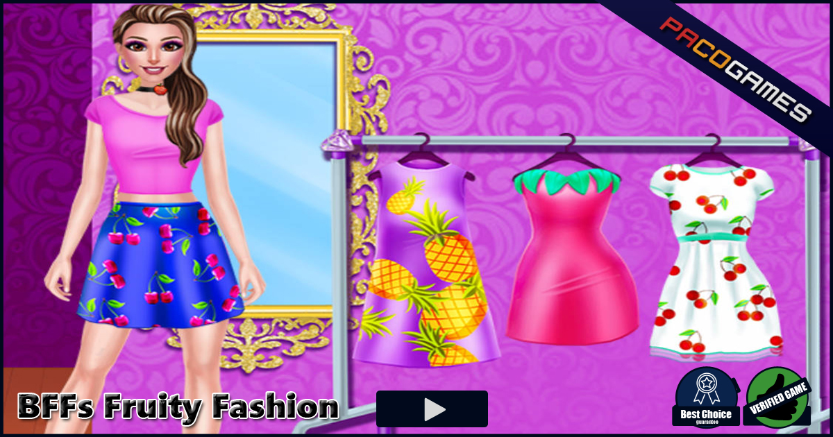 Bffs fruity fashion play it for free at Play new fashion style games