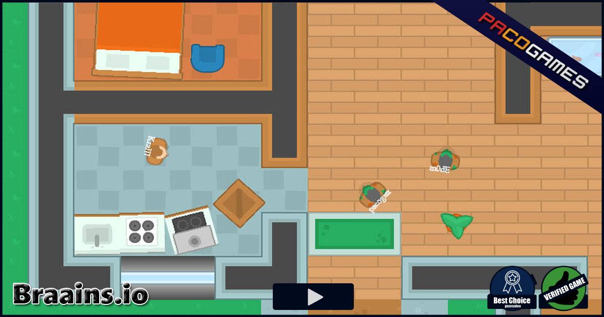 Braains.io - Jouer gratuitement à PacoGames.com!