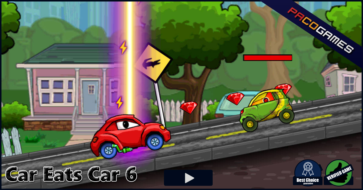 Car Eats Car 6 Play The Game For Free On Pacogames