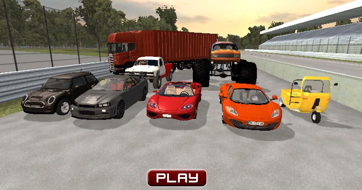 D Action Car Games