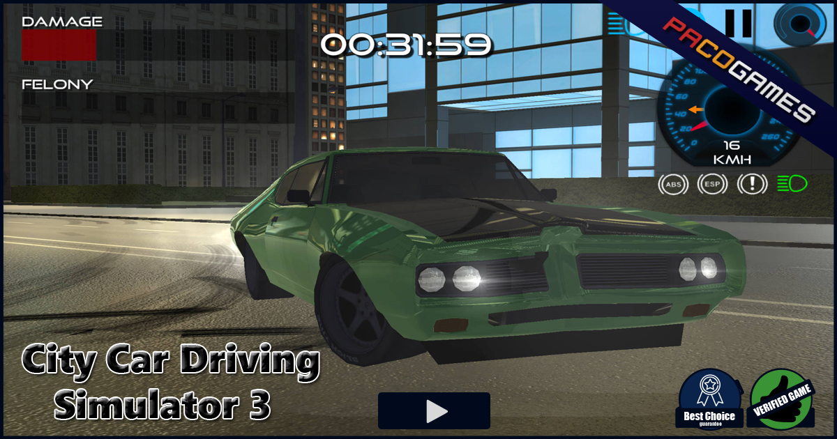 City Car Driving Simulator 3 Play The Game For Free On Pacogames