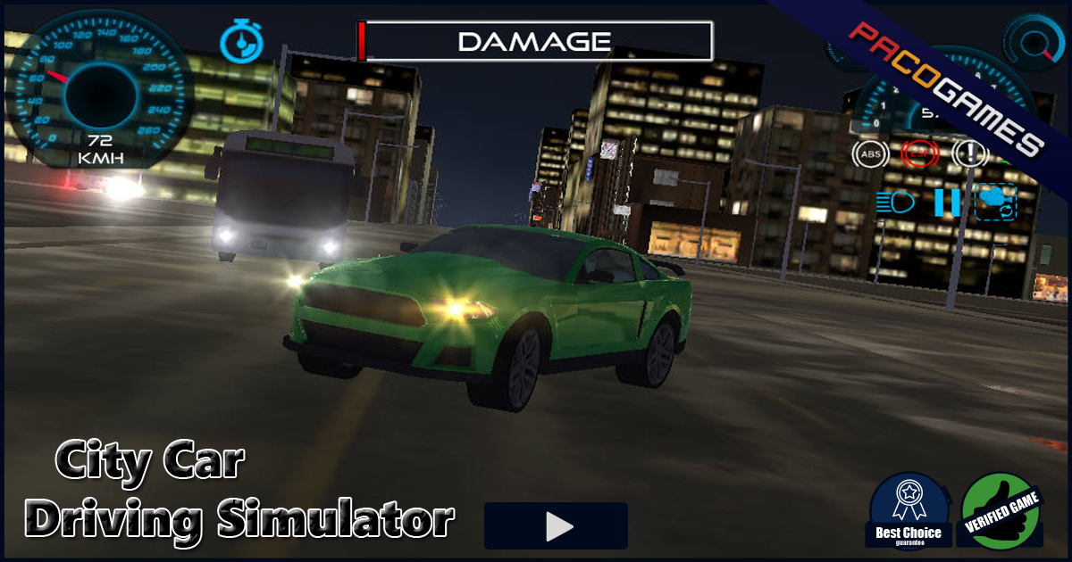 City Car Driving Simulator Play The Game For Free On Pacogames