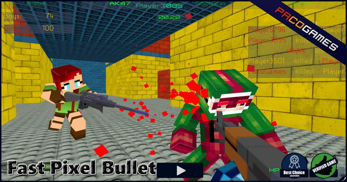 Jogo Fast Pixel Bullet Online