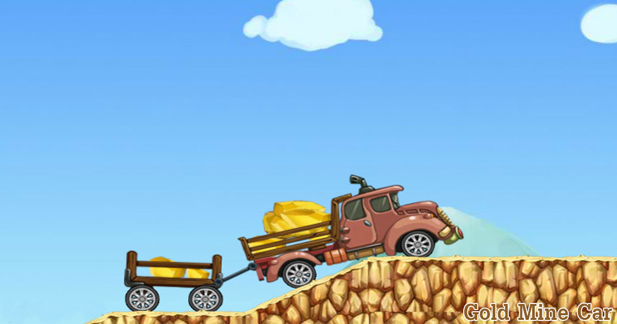 Gold Mine Car | Play the Game for Free on PacoGames