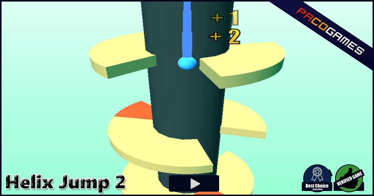 Helix Jump 2 - Jogue Grátis no PacoGames com!