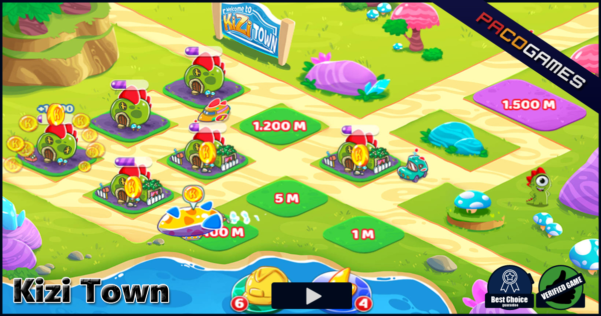 kizi town play the game for free on pacogames