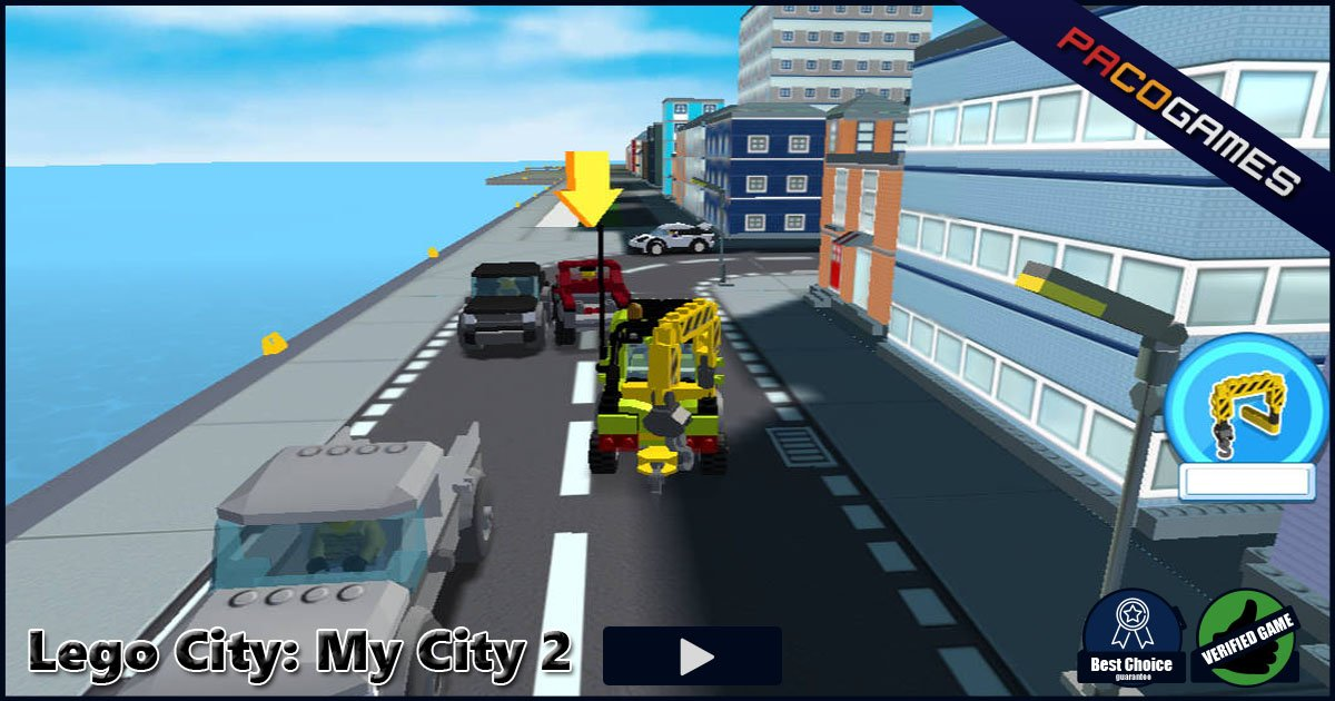 Lego City: My City 2 - Play it for Free at PacoGames.com!