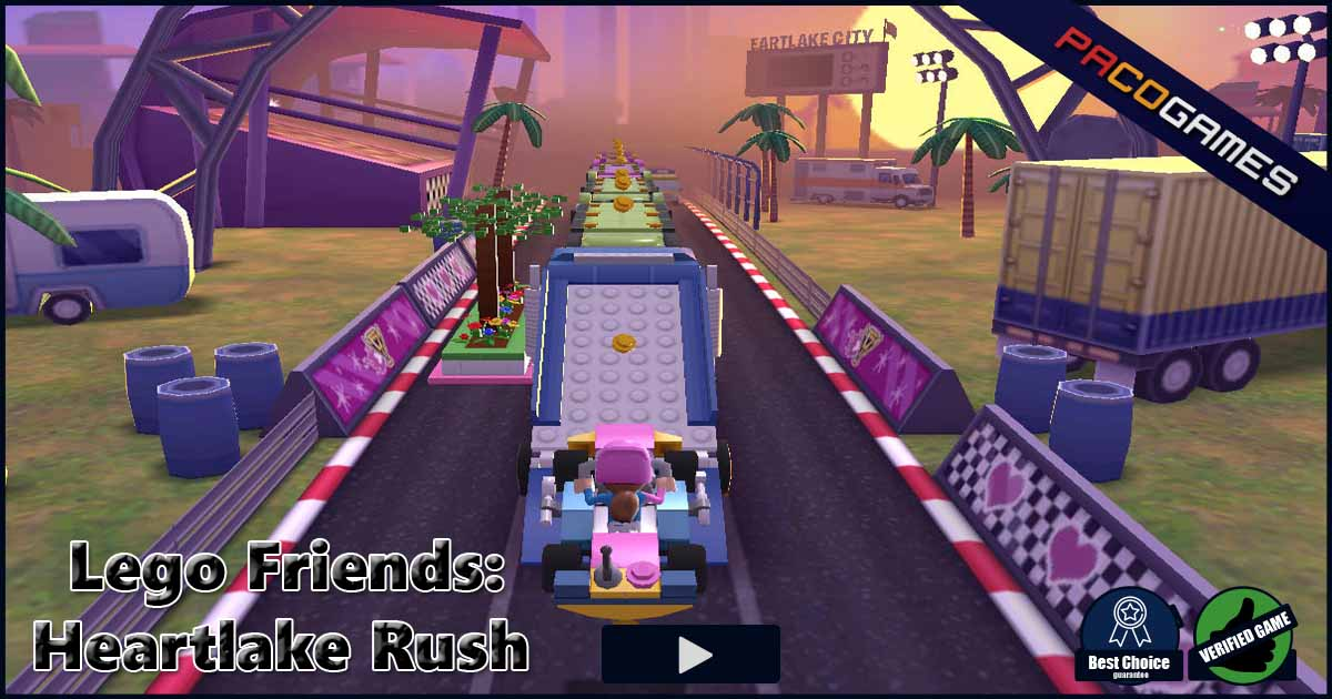 Lego Friends Heartlake Rush Play The Game For Free On Pacogames