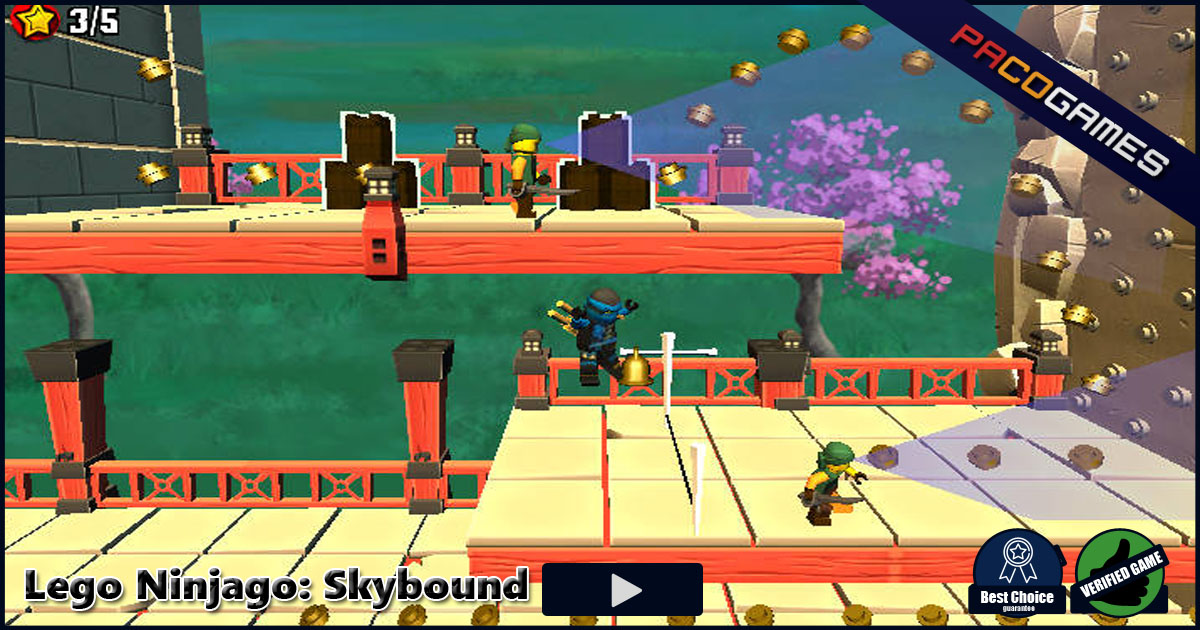 Lego Ninjago: Skybound - Play it for Free at PacoGames.com!
