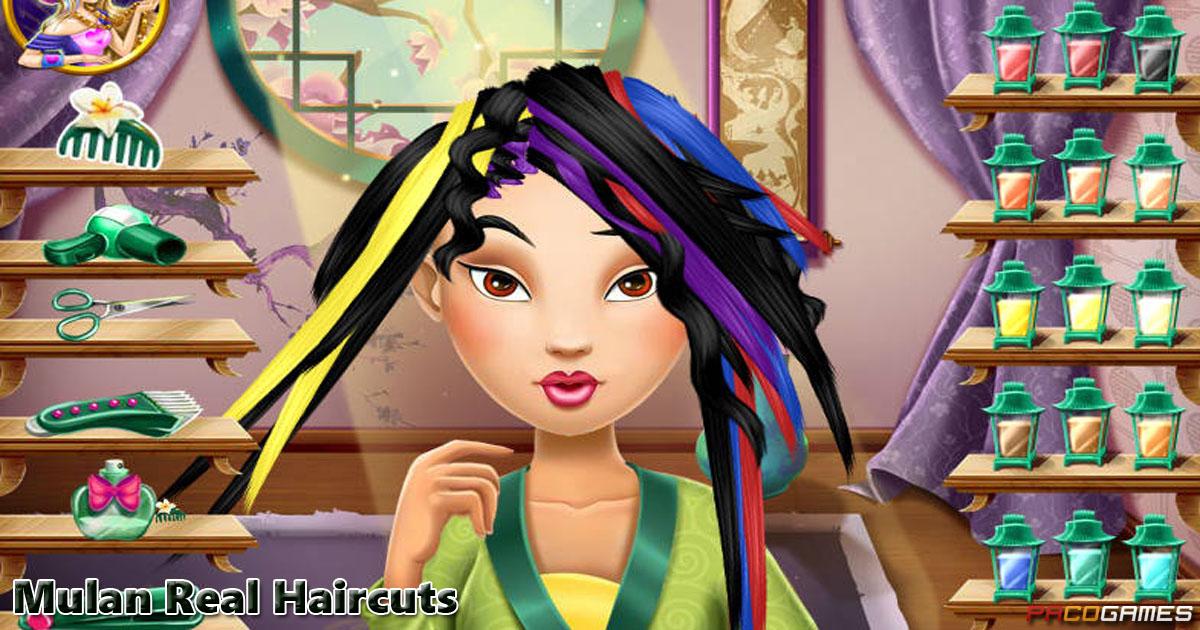 Mulan Real Haircuts Pacogames