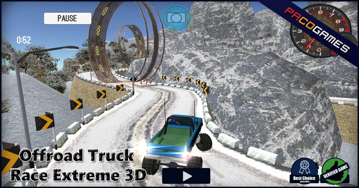 truck racing games 3d