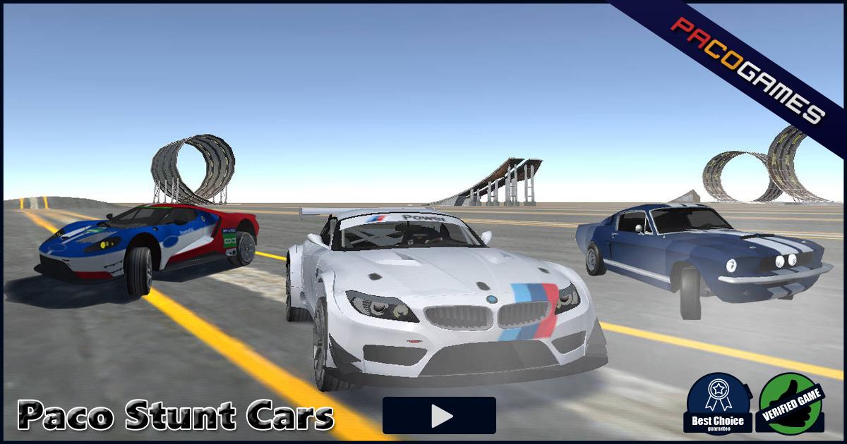 Paco Stunt Cars Ucretsiz Oyna Pacogames Com Da