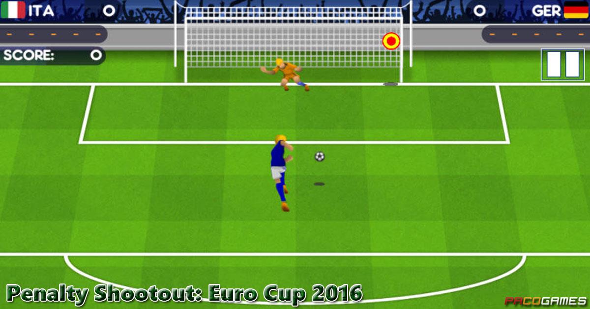 Penalty Shootout: Euro Cup 2016 - Jogue Grátis no ...