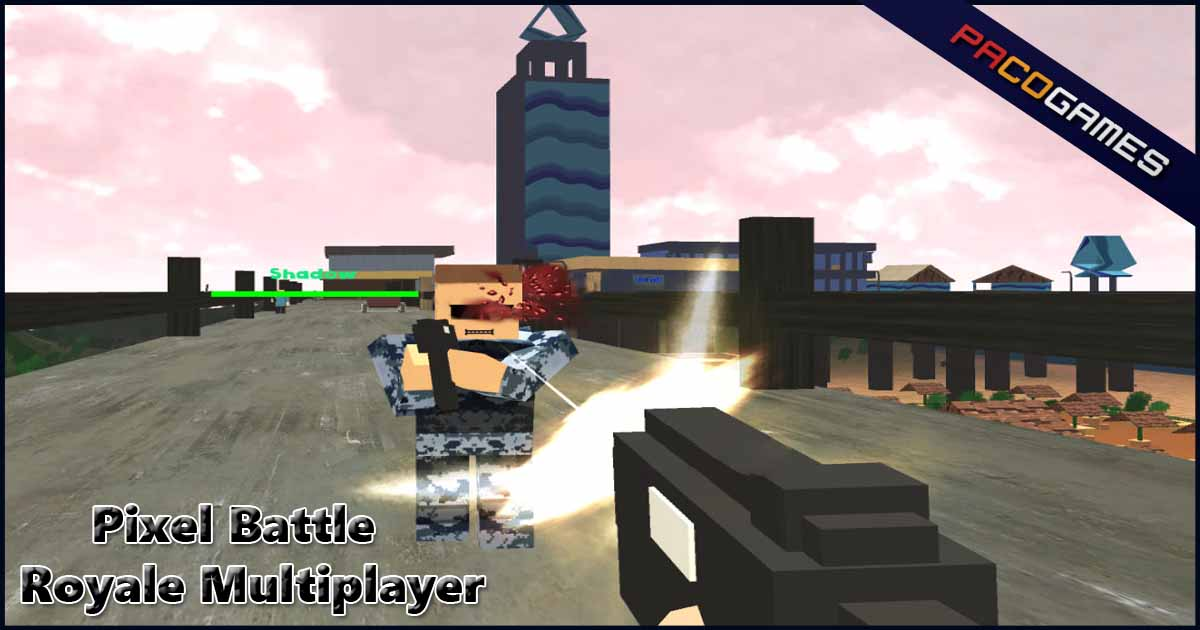 Pixel Battle Royale Multiplayer   Play the Game for Free on