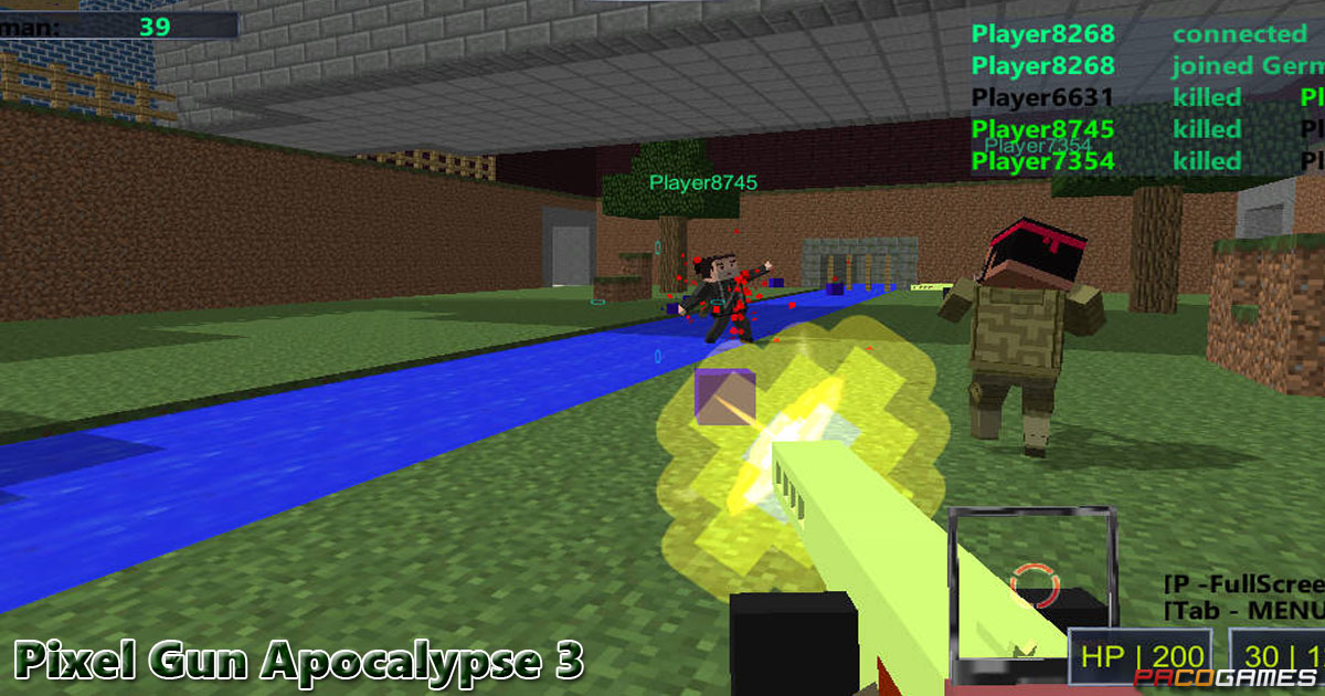Pixel Gun Apocalypse Play It For Free At PacoGamescom - Minecraft spiele a10