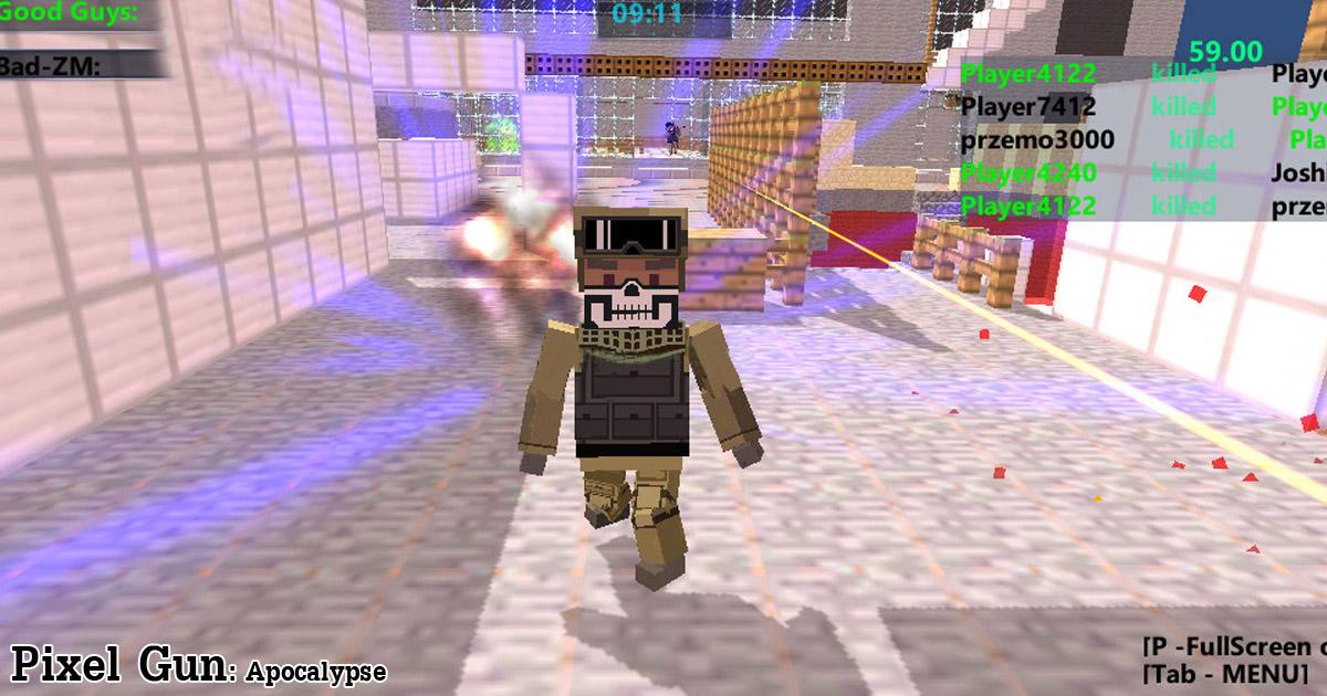 Pixel Gun Apocalypse Spiele Die Kostenlos Bei PacoGamescom - Minecraft fur pc online spielen