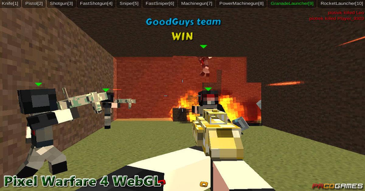 Pixel Warfare 4 WebGL PacoGames.com