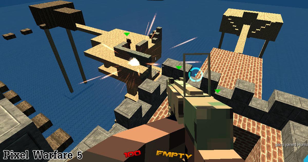 Pixel Warfare Spiele Die Kostenlos Bei PacoGamescom - Minecraft spielen auf jetztspielen de