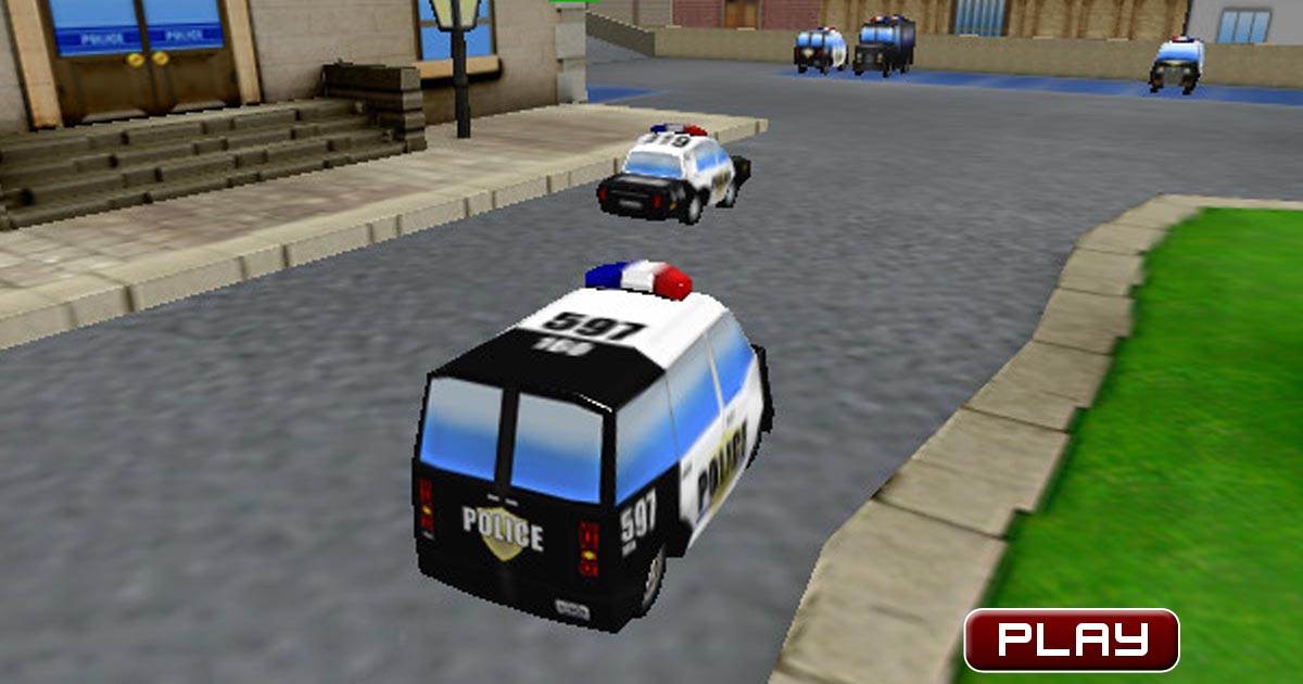 Fast Police Car Parking Games