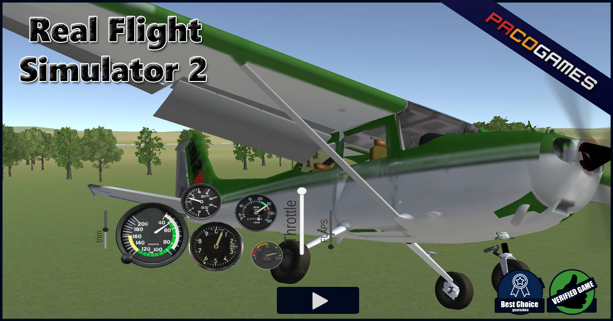 Real Flight Simulator 2 | Play the Game for Free on PacoGames