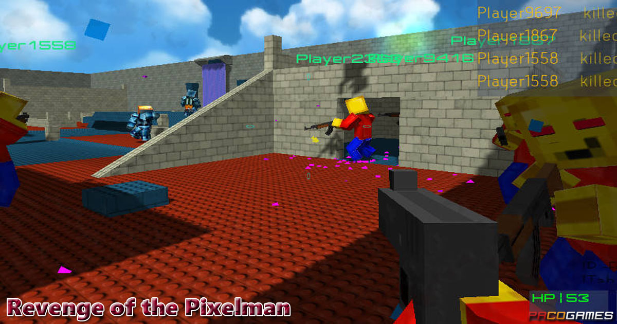 Revenge of the Pixelman - Play it for Free at PacoGames.com!