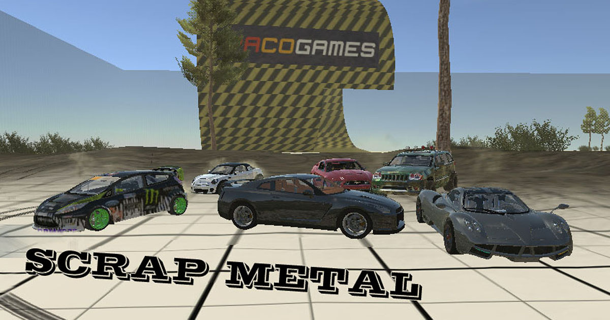 Scrap Metal - Play it for Free at PacoGames.com!