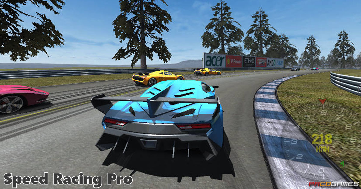 Speed Racing Pro Play The Game For Free On Pacogames